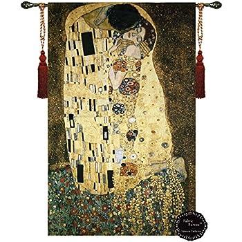 Amazon Com Gustav Klimt Geometric Abstract The Kiss 35 5