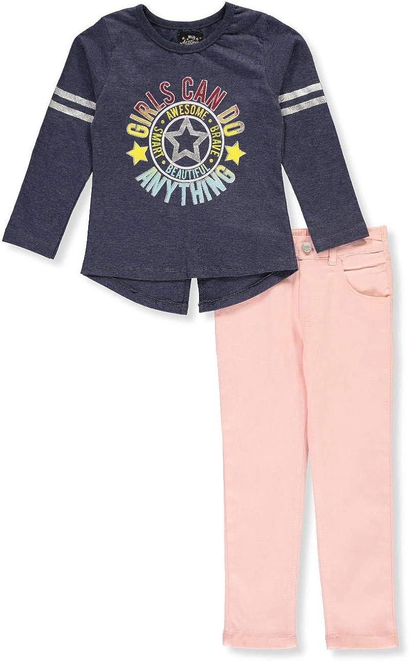 My Destiny Girls Can-Do Attitude 2-Piece Pants Set Outfit