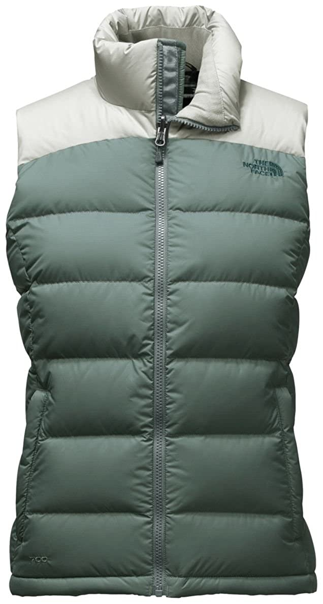 Balsam Green Wrought Iron THE NORTH FACE Women's Nuptse 2 Vest