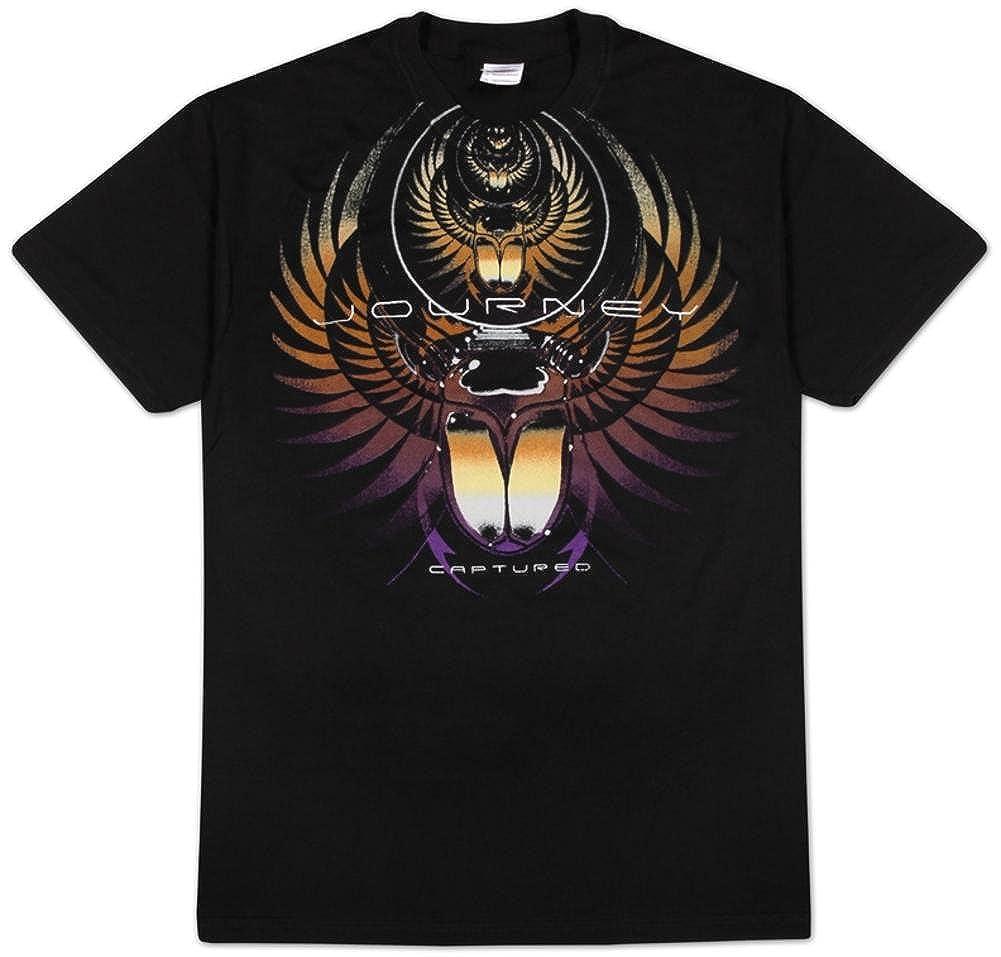 7b5549bfd8b8 Amazon.com: Journey - Captured T-Shirt: Clothing