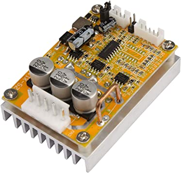 Amazon Com 5v 36v 350w Wide Voltage 3 Phase Sensorless Bldc Motor Controller Board Brushless Esc Motor Driver Module With Heatsink Home Improvement