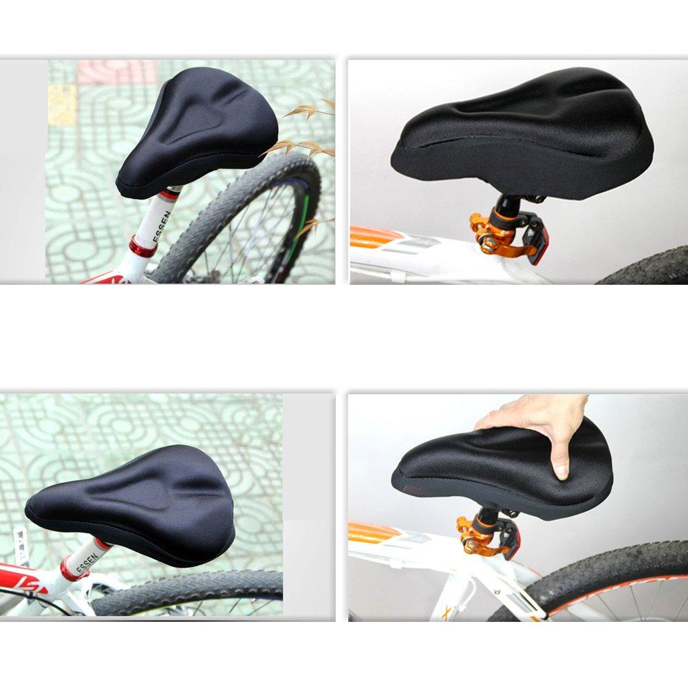 con copertura antipioggia impermeabile e antipolvere coprisella in gel per bicicletta confortevole e morbido EMIUP