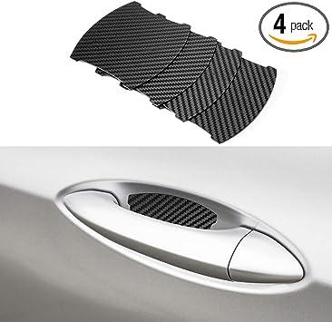 Amazon Com Door Handle Trim Magnetic Door Cup Paint Scratch Protector Cover Accessories For Honda Pilot Crv 4 Pcs Home Improvement