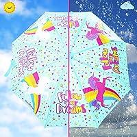 Regalos para Niñas | Paraguas Niña | Paraguas Infantil Cambia Color! Paraguas Plegables | Sombrillas Para El Sol! | Detalles Cumpleaños Infantiles ...