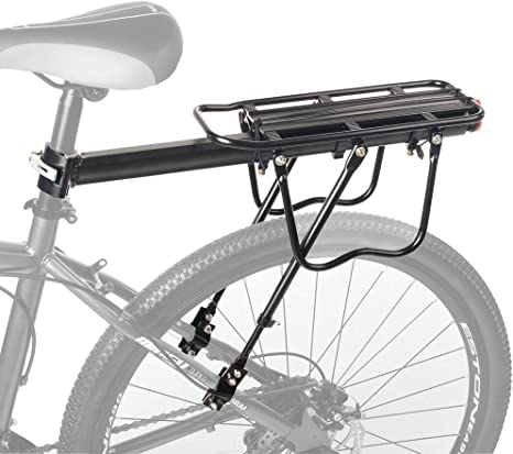 1 PC Bicycle Rear Rack Bike Carrier Bracket Pannier Luggage Bag Cycle Seat