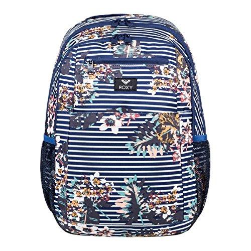 (ROXY Here You Are Backpack Medieval Blue Boardwalk Schoolbag ERJBP03745-BTE6 Roxy bags)