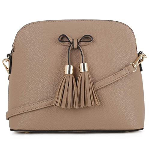 54d803807348 MALIBU SKYE Olivia Triple Compartment Crossbody Bag: Handbags ...