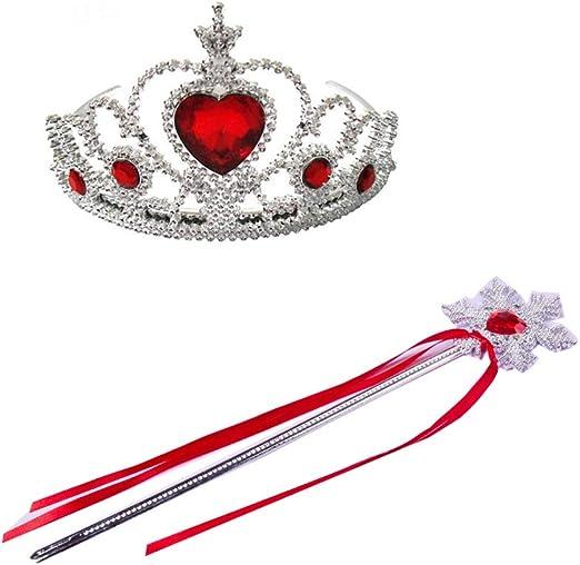 bangbang Queen of Hearts Tiara - Accesorio de Navidad para Fiestas ...