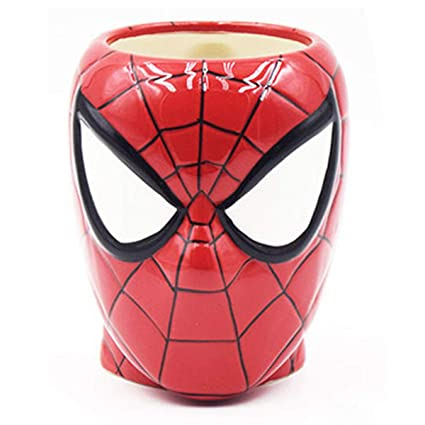 BonZeaL Spiderman Mug Ceramic Coffee Mugs Superhero Tea Cups Birthday Gifts For Boyfriend Kids Brother Friend