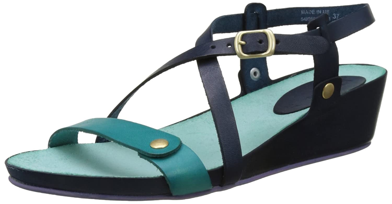 Kickers Taste, Sandales Bout Bout Ouvert Femme Femme Bleu (Marine Sandales Bleu Lagon) a665f08 - boatplans.space