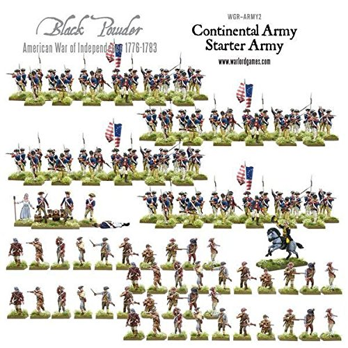 American War Of Independence, Continental Starter Army by Warlord Games