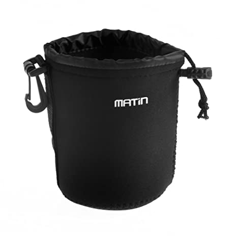 Matin Neopreno a Prueba de Agua Soft Camera Lens Pouch Bag Estuche ...