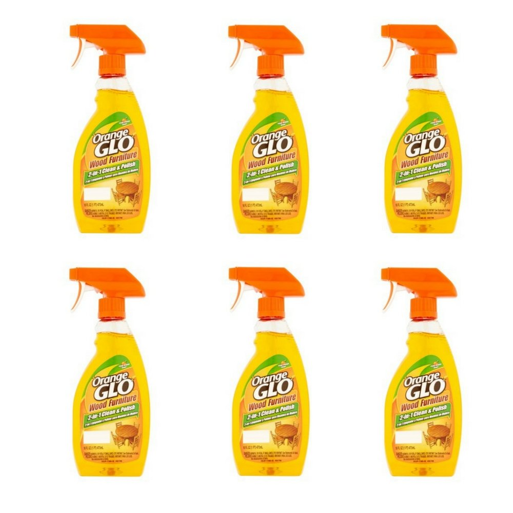 Orange Glo 2イン1 クリーン&ポリッシュ 木製家具スプレー 16オンス 2パック B076HTF4FN  6