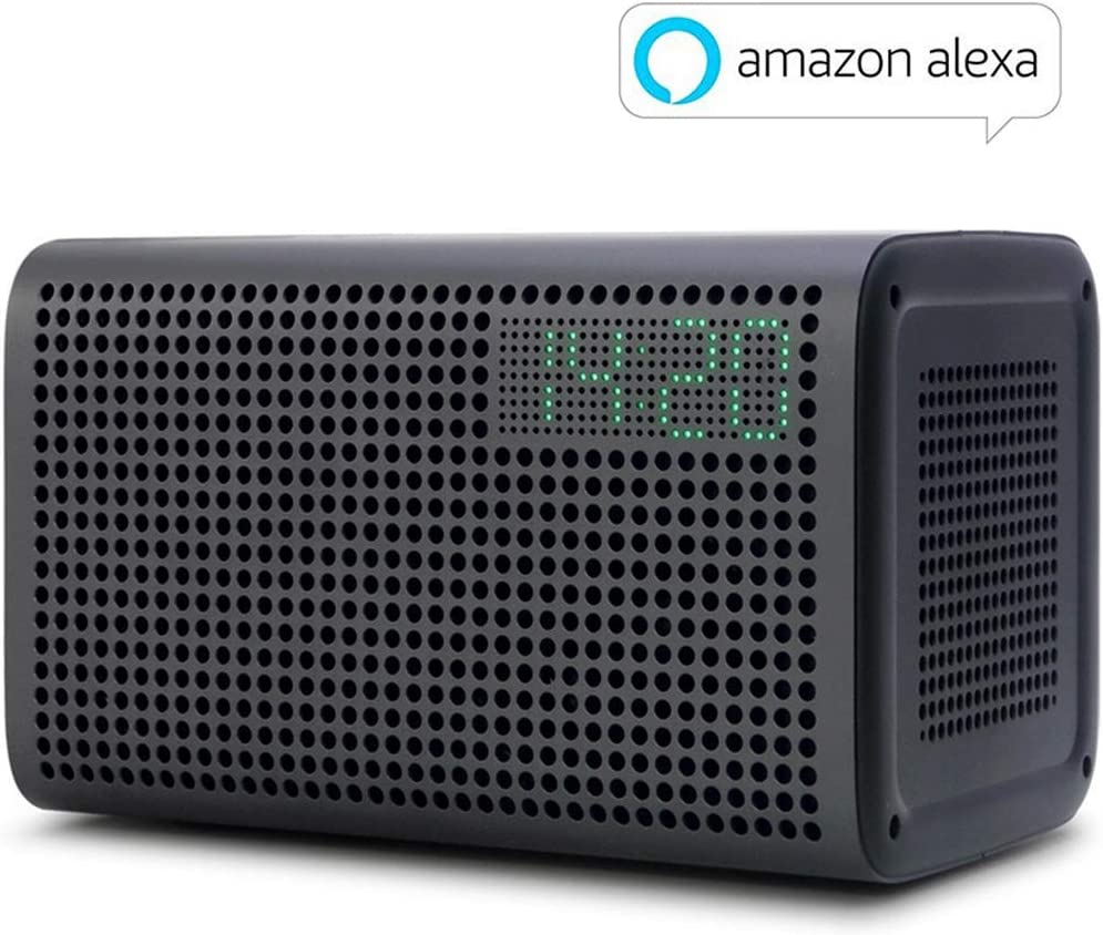20W Altavoces Bluetooth WiFi con Voz Control Inteligente Sonido Estéreo Smart Speaker con AUX Cable Spotify iTunes Altavoz GGMM