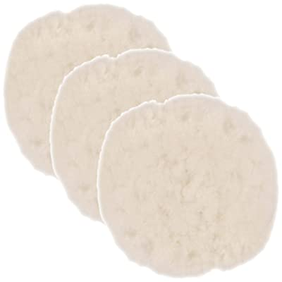 TCP Global 3 Pack of 8 Synthetic Wool Blend Polishing Pad Bonnets: Automotive