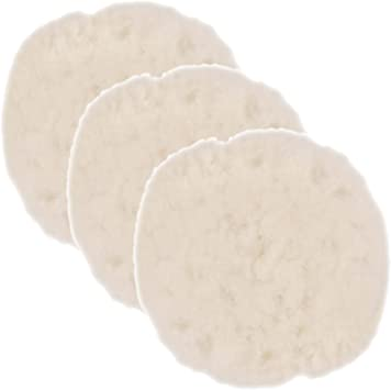 TCP Global 7 Synthetic Wool Blend Polishing Pad Bonnets Pack of 3