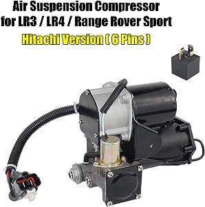 Air Suspension Compressor Pump LR023964 LR061663 for La-nd Rover LR3 LR4 Range Rover Sport for Hitachi Style (6 Pins Connectors) LR044360