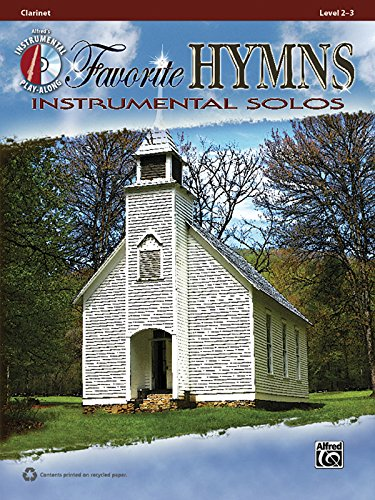 Favorite Hymns Instrumental Solos: Clarinet, Book & CD (Instrumental Solos Series)
