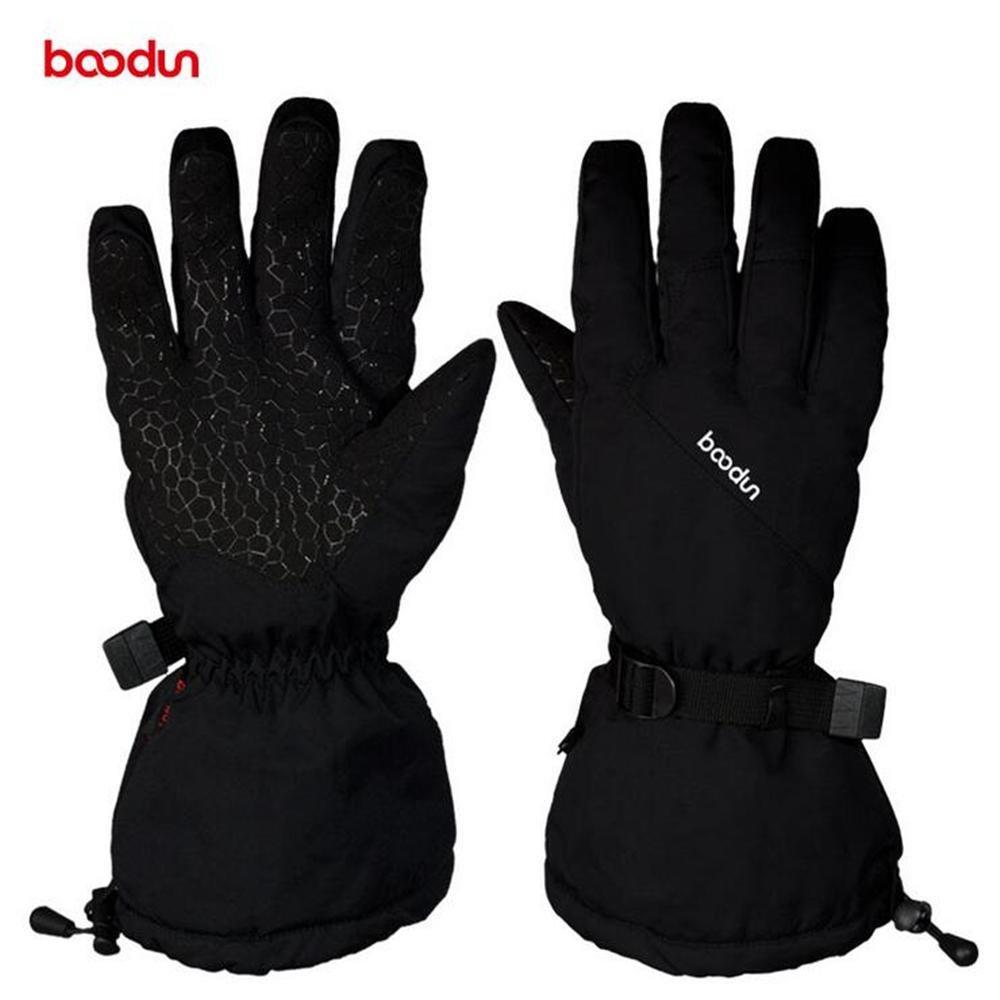 BOODUN Winter ski Warm Gloves Waterproof Outdoor Windproof Skid Sports ski Gloves