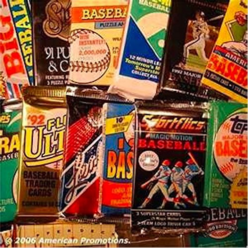 MLB Baseball Trading Cards. Collection of MLB Baseball Card Set of 30 unopene...