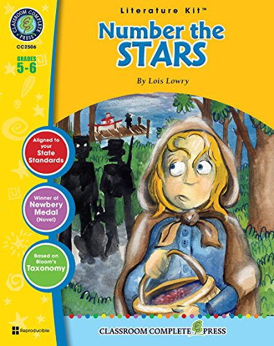 Number the Stars - Novel Study Guide Gr. 5-6 - Classroom Complete Press (Literature Kit) 5 Days Until Christmas