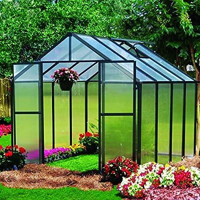 Monticello MONT-8-BK Greenhouse