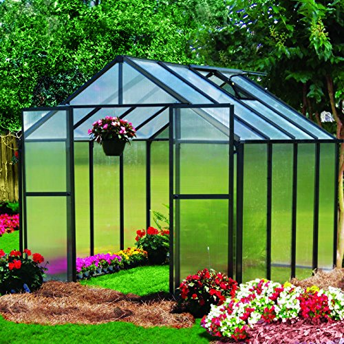 Monticello-Greenhouse-8FT-Black