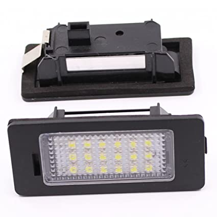 Amazoncom Paision Error Free Led License Plate Light For Audi A4