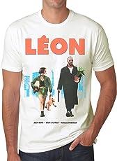 Retro Tees Mens Leon 'The Professional' and Matilda Movie T-Shirt