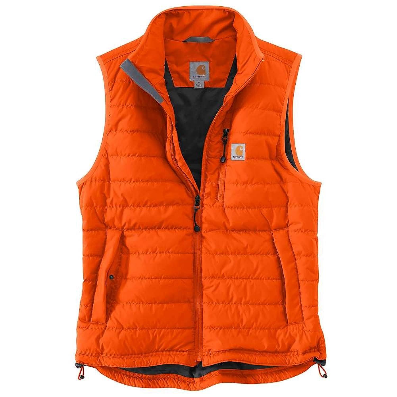 カーハート トップス ベスト Carhartt Men's Gilliam Vest Blaze Oran vy4 [並行輸入品] B073ZVZ9VH