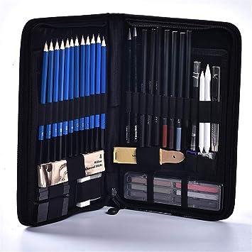 48Ejercado de lápices para dibujar bocetos, artículos de ...