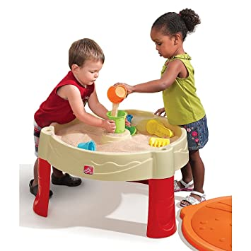 Exceptional Step2 Sand Castle Play Table