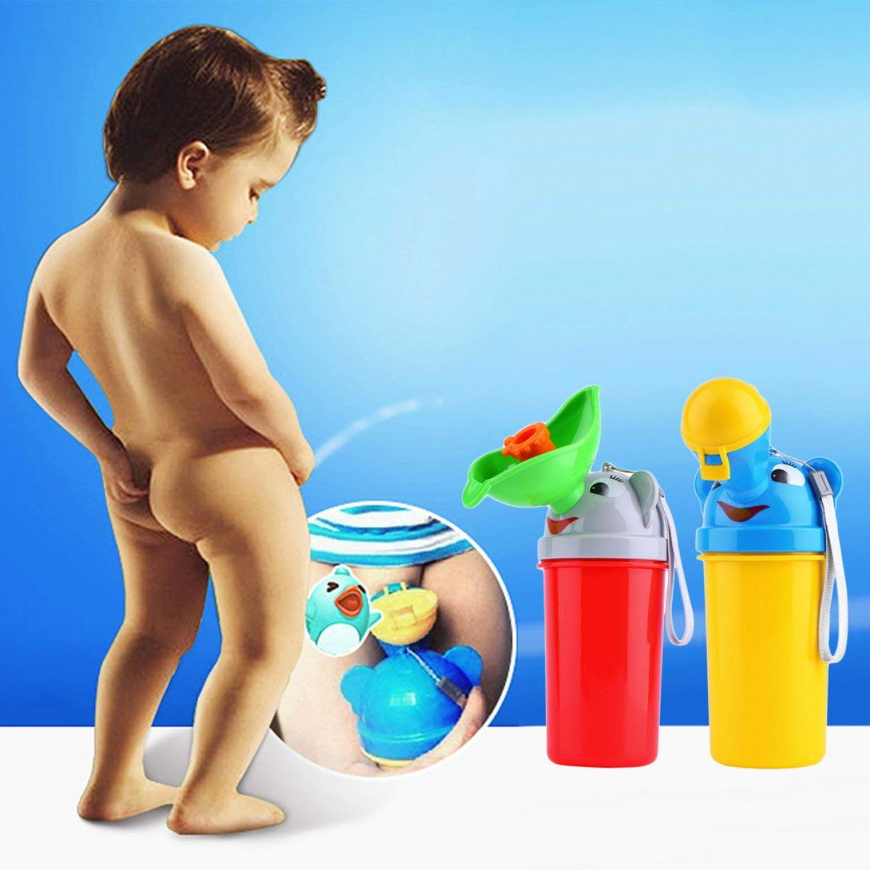 Tragbare Baby-Spielraum Pissoir Auto-WC Outdoor-Camping-Jungen-M/ädchen-Kind-T/öpfchen