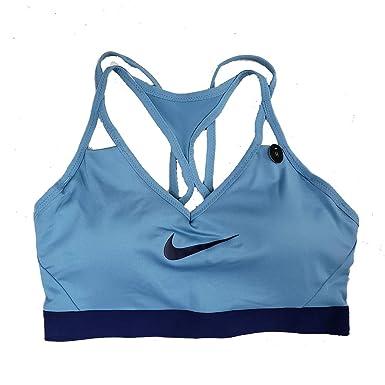 0bce1b8dadc Nike Pro Women s Indy Light Support Dri-Fit Sports Bra Black AJ4277 449 (xs