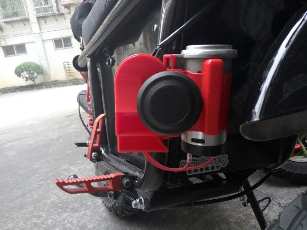 ACHICOO 12 V voiture moto camion cornes camion bateau compacte double ton pompe /électrique air fort moto corne