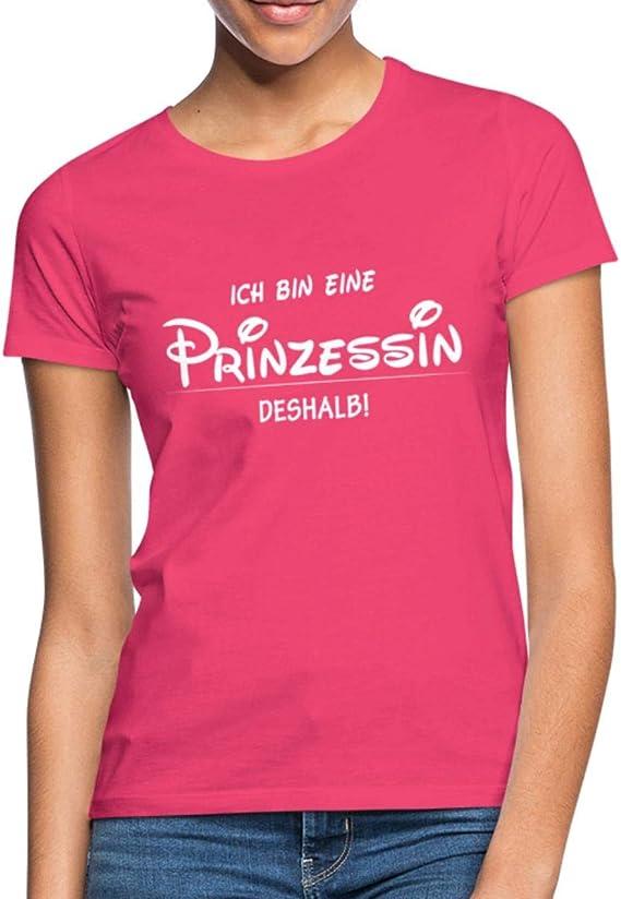 Ich Bin Eine Prinzessin Deshalb Statement Witzig Frauen T