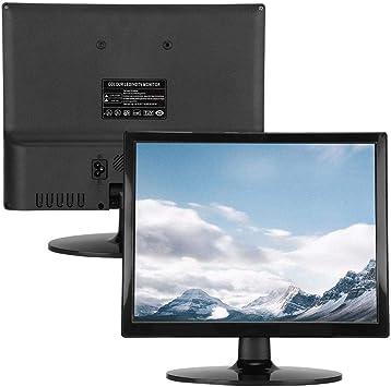 Heayzoki Monitor de Pantalla, Pantalla de computadora de 14 Pulgadas Pantalla LED de Alta definición Negra con Interfaz VGA 1024 x 768, para computadora portátil, PC, Xbox, PS4, teléfono Android(YO): Amazon.es: Electrónica