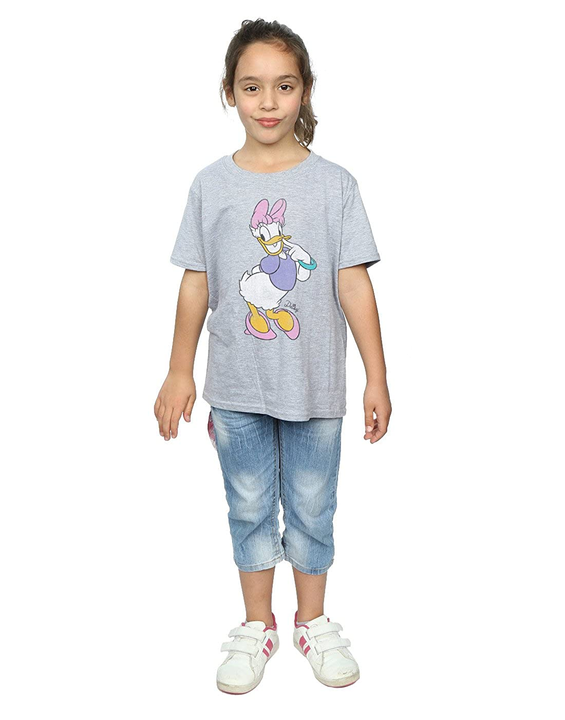 2a843c71 Amazon.com: Disney Girls Mickey Mouse Classic Daisy Duck T-Shirt: Clothing