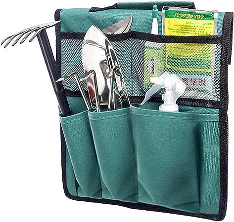 SyeRum - Rodilleras para jardinería, Banco de jardín, Plegable, Taburete, Bolsa de Herramientas portátil, jardín, Rodilleras, Solo bolsas de herramientas de jardín: Amazon.es: Hogar