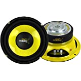 "Pyle PLG64 6.5"" 300 Watt Car Mid Bass/Midrange Subwoofers Sub Power Speakers (2)"