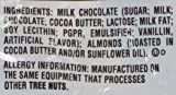 Hershey's Milk Chocolate Kisses with Almonds - 18