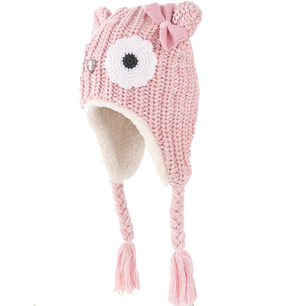 Amazon.com: Hisharry Baby Winter Warm Knit Hat -Crochet Infant ...