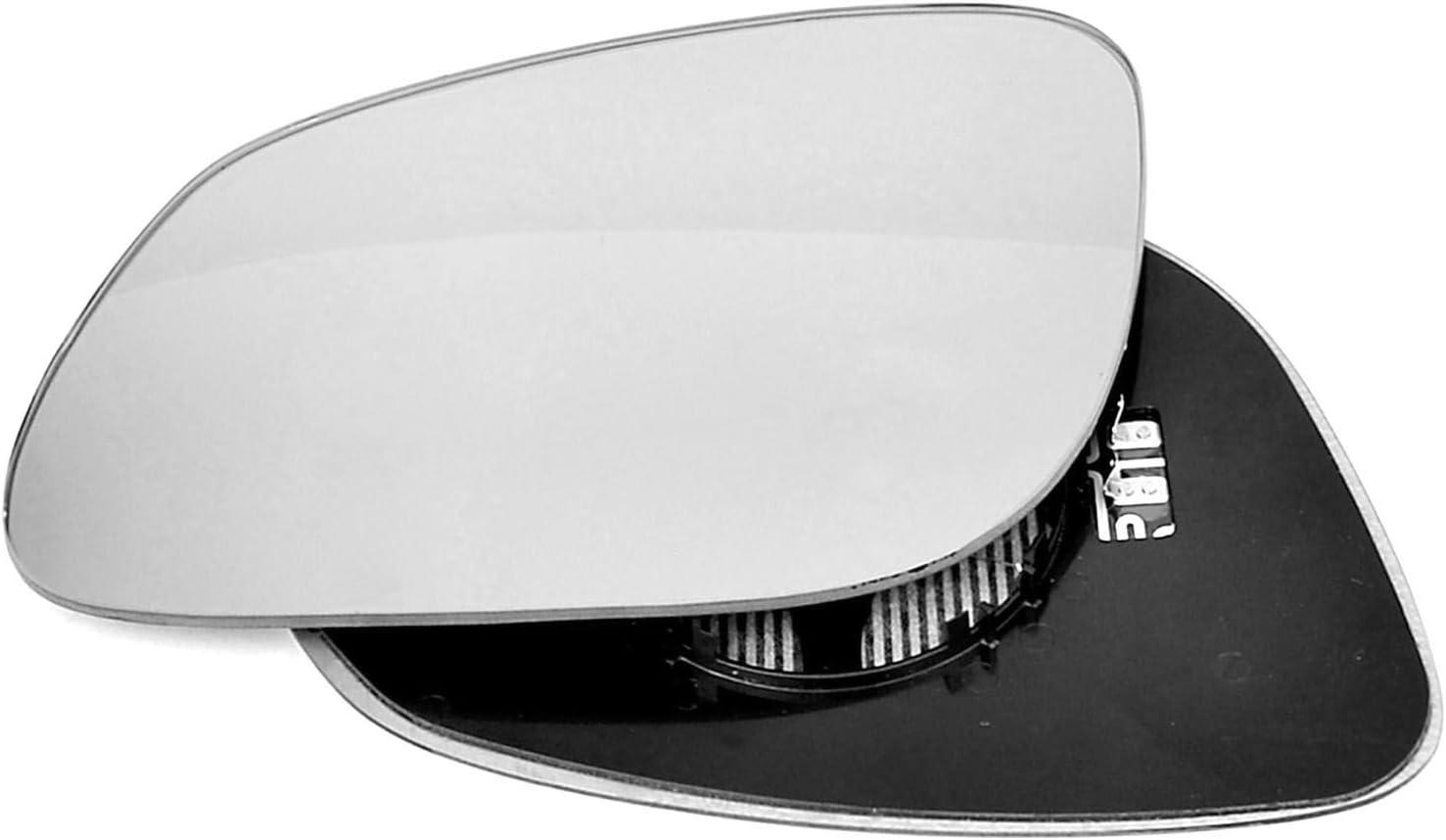 Passagier linken Seite Fl/ügel T/ür Spiegel konvex Glas beheizbar mit Tr/ägerplatte