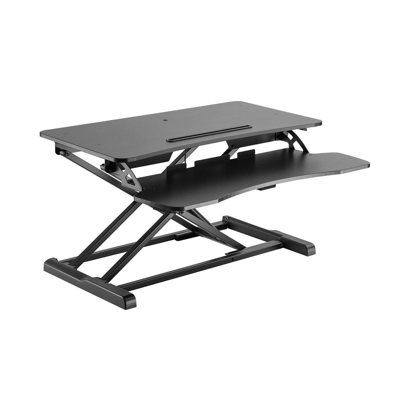 V7 DT2SSB-1N -1E Sit-Stand Essential Desktop Workstation (Up to 15 Kg)