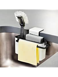 Kitchen Sink Organizer,niceeshop(TM) Sink Caddy Soap And Sponge Holder  Drying Rack