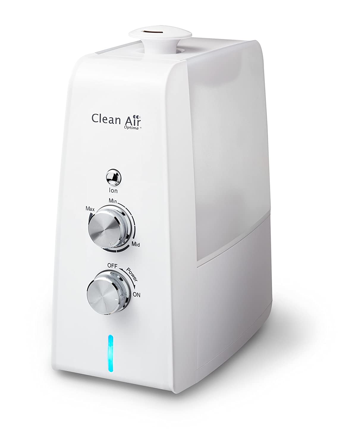 Humidifier with Ionizer CA-602 - Suitable 35m² - Ultrasonic Humidifier - Humidifier with Aromatherapy! Clean Air Optima