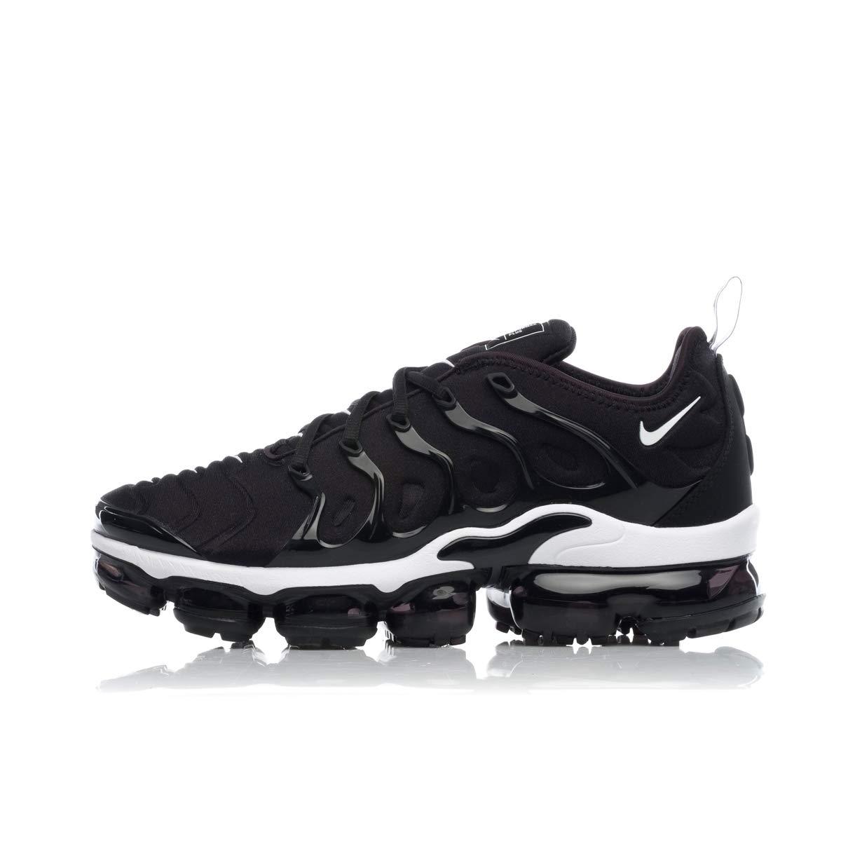 Nike Air Vapormax Plus, Hausschuhe de Atletismo para Hombre schwarz (schwarz Weiß 11)