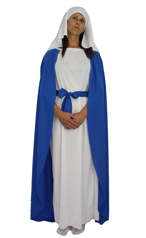 Kostüm Kostüm Kostüm Jungfrau Maria, Weihnachten, Damenkostüm Gr. Größe L,  518f31
