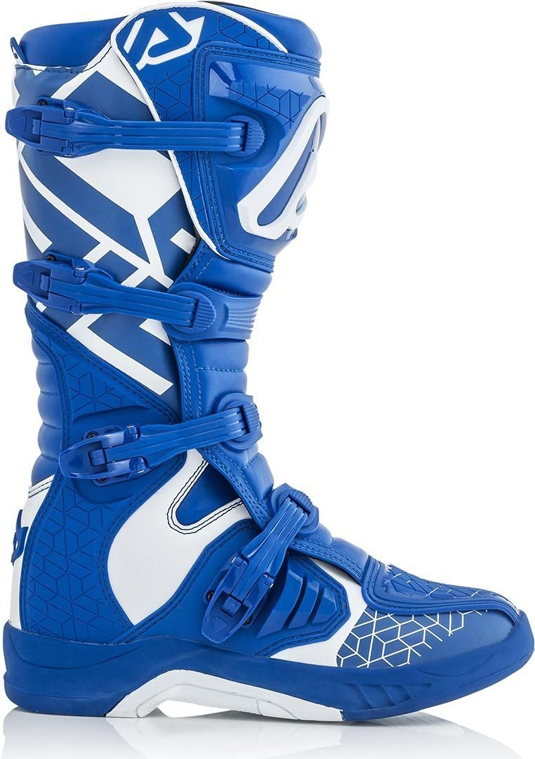 Acerbis - Stivali da Motocross X-Team, Giallo/Bianco