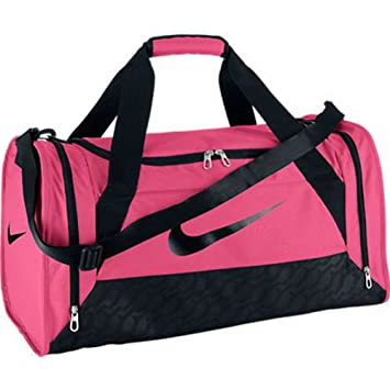 184ba4394b9f Women s Nike Brasilia 6 Medium Duffel Bag Spark Pink Size Medium   Amazon.co.uk  Sports   Outdoors